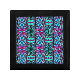 Cool Modern Vibrant colored Pattern Gift Box