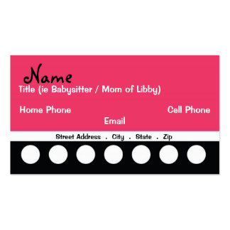 Cool Mom Business Card