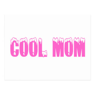 Cool Mom Pink Postcard