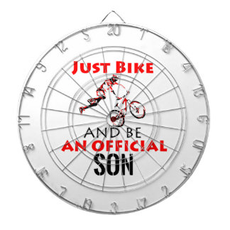 cool monthain bike  design dartboard
