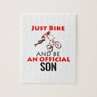 cool monthain bike  design jigsaw puzzle