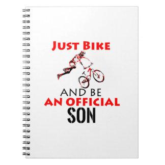 cool monthain bike  design notebook