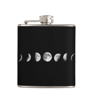 Cool Moon Phases Flask