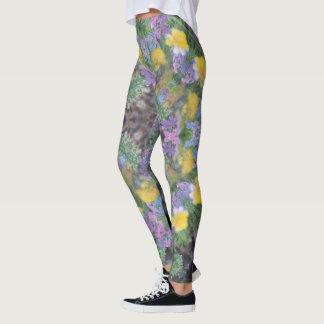 Cool Moonlight Lavender Mandala Leggings