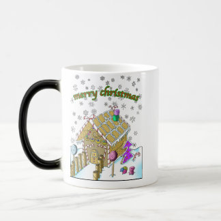 Cool Morphing Mug! Merry christmas Magic Mug
