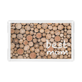 Cool Mother's Day Gift! Best Mom. Acrylic Tray