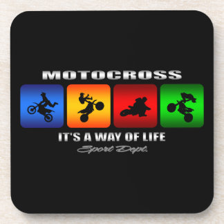 Cool Motocross It Is A Way Of Life Coaster