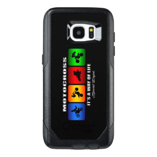 Cool Motocross It Is A Way Of Life OtterBox Samsung Galaxy S7 Edge Case
