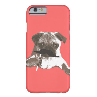 Cool Moustache Pug iPhone 6 case Barely There iPhone 6 Case