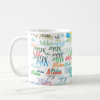 cool mug of colorful names
