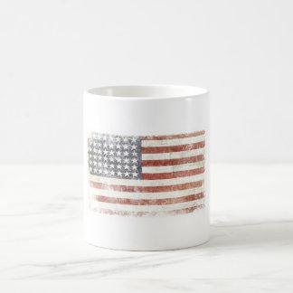 Cool Mug with Distressed USA Flag