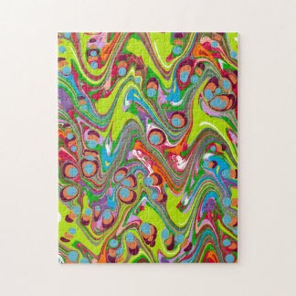 Cool Multi-Color Jigsaw Puzzle