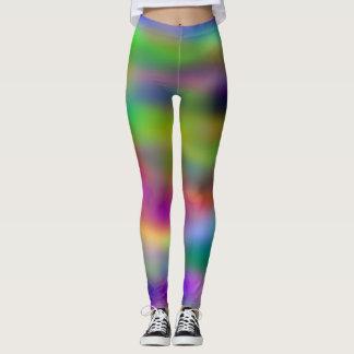 Cool Multi Colored Rainbow Leggings