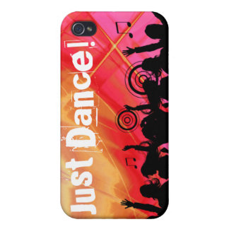 Cool Music Dance Retro iPhone Cover silver iPhone 4 Case