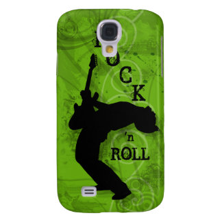 Cool Music Guitar Rock Grunge iPhone 3 Cover lime