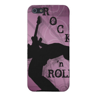 Cool Music Guitar Rock Grunge iPhone Cover pink Cover For iPhone 5/5S