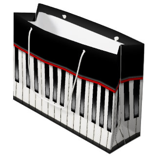 Cool Music lovers party piano bag