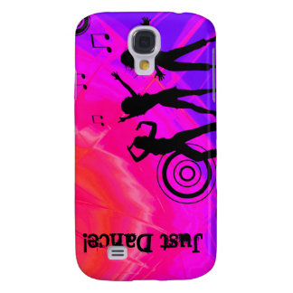 Cool Music Retro Dance iPhone 3 Cover pink purple