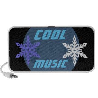 Cool Music Snowflake OrigAudio Doodle Portable Speakers