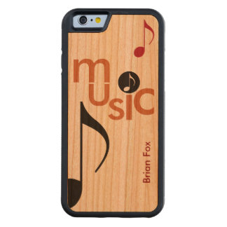 cool music-themed cherry iPhone 6 bumper case