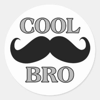 Cool Mustache Bro Sticker