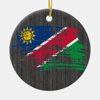 Cool Namibian flag design Ceramic Ornament