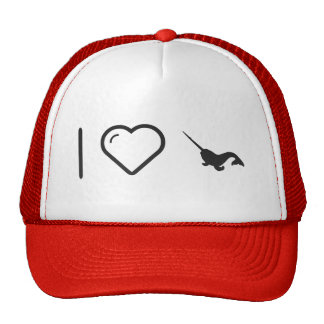 Cool Narwhal Trucker Hat