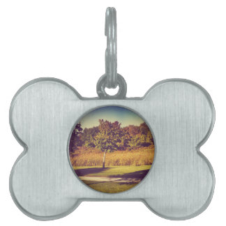 Cool Nature Pet Name Tag