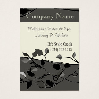 Cool Nature Tree Branch Design Business Card