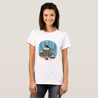 Cool Nature Woodpecker T-Shirt