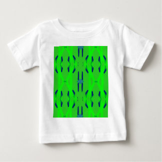 Cool Neon Green Blue Artistic Abstract Baby T-Shirt