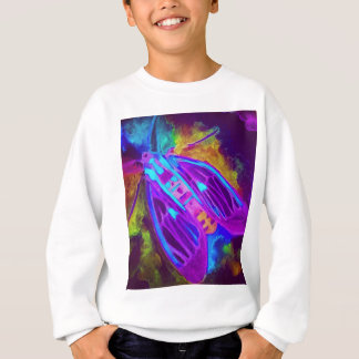 Cool Neon Insect/Bug Electric Painted Nature Sweatshirt