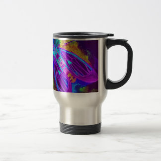 Cool Neon Insect/Bug Electric Painted Nature Travel Mug