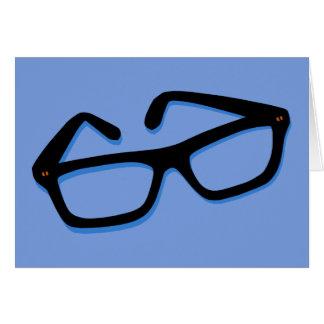 Cool Nerd Glasses Card