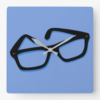 Cool Nerd Glasses Wallclocks