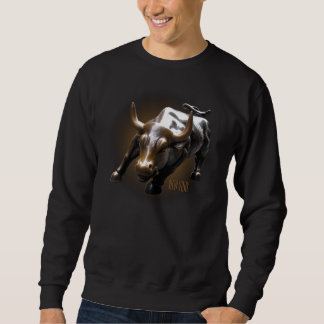 Cool New York Sweatshirt NYC Bull Shirt Souvenir