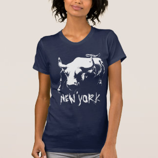 Cool New York  Tank Top Women's NY Bull Shirt