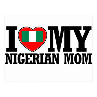 cool Nigerian  mom designs Postcard