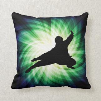 Cool Ninja Throw Pillows