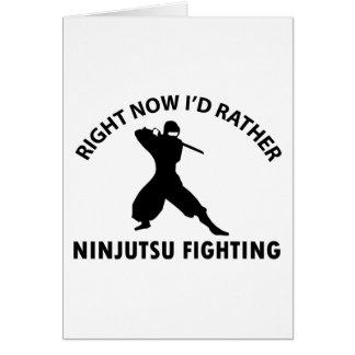 cool ninjutsu  designs card