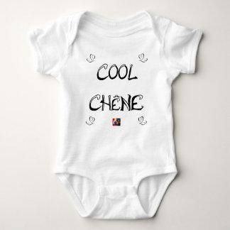 COOL OAK - Word games - François City Baby Bodysuit