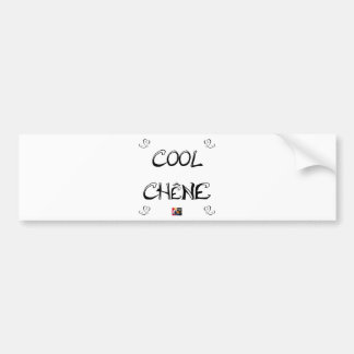 COOL OAK - Word games - François City Bumper Sticker