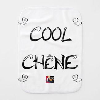 COOL OAK - Word games - François City Burp Cloth