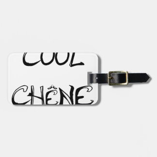 COOL OAK - Word games - François City Luggage Tag