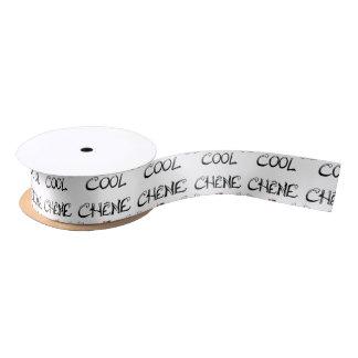 COOL OAK - Word games - François City Satin Ribbon