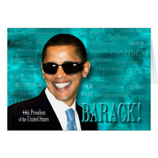 Cool Obama Card