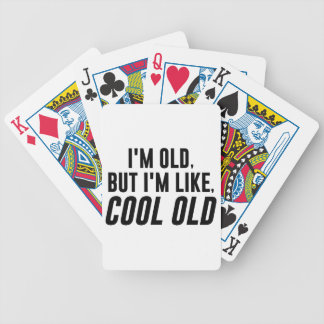 Cool Old Bicycle Playing Cards