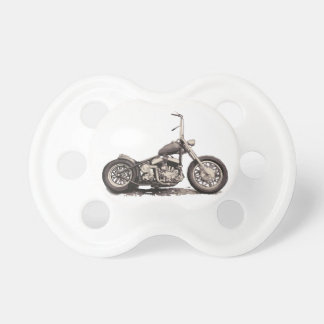 Cool Old Motorbike Pacifier