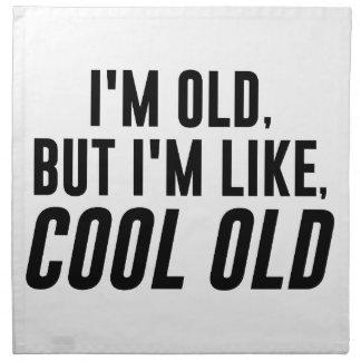 Cool Old Napkin