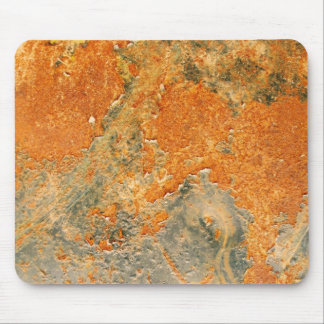 Cool Old Rusted Iron Metal Mouse Pad